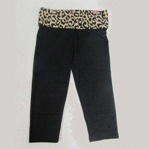 Victoria's Secret PINK Yoga Crop Legging Size Med